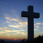 cross with sky