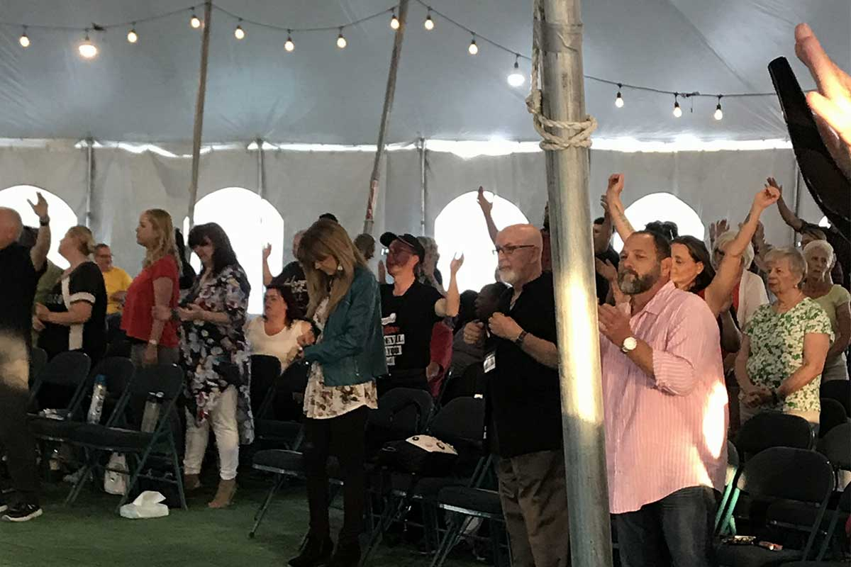 Living Proof Tent Revival